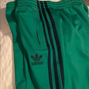 adidas Other - Adidas track suit. Green with navy.